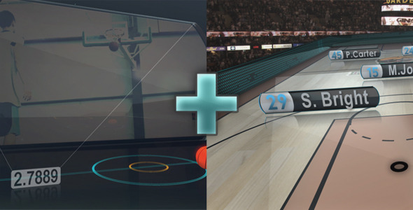 VideoHive Basketball Promo & On-air-graphics 1658435