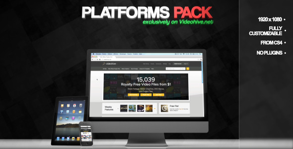 VideoHive Platforms Pack 1677437