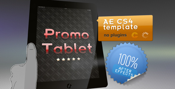 After Effects Project - VideoHive Promo Tablet 1678369
