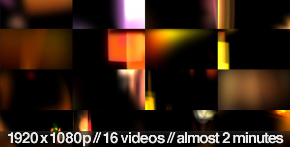 VideoHive Light Leaks and Flares Overlays 16 Video Bundle 1678614