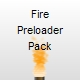 Flame Preloader Pack - Drag and Drop - ActiveDen Item for Sale