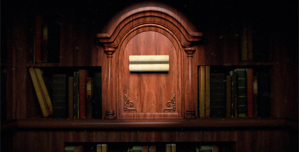 VideoHive Old Library Logo Reveal 1681103