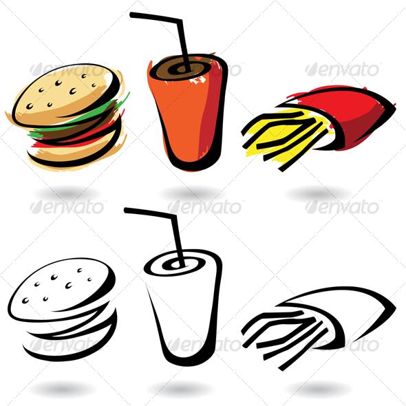GraphicRiver fast food 56889