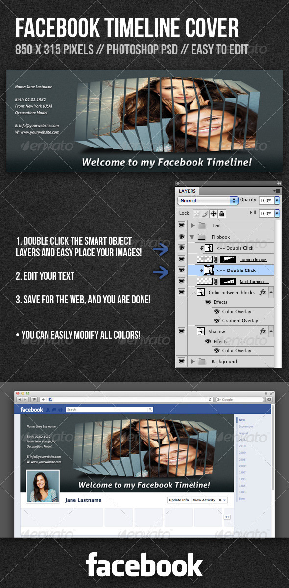 GraphicRiver Facebook Timeline Cover 1681964