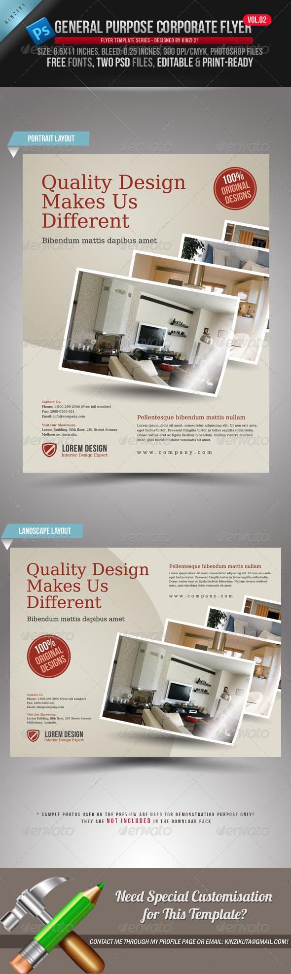 GraphicRiver General Purpose Corporate Flyer Vol 02 1685023