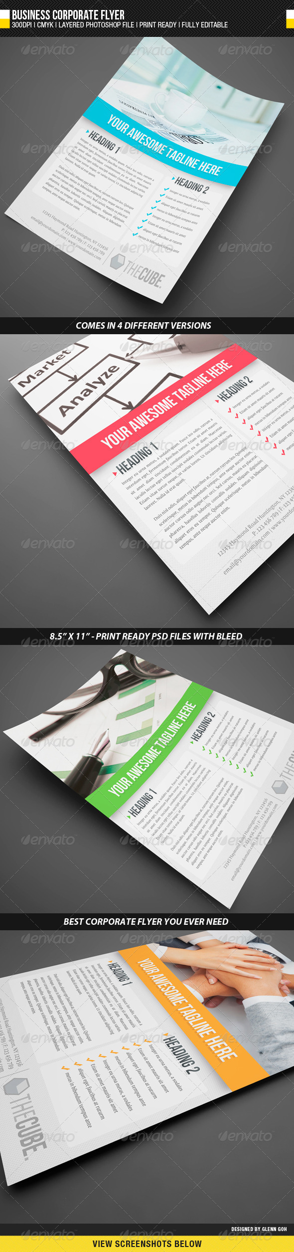 GraphicRiver Business Corporate Flyer 1685844