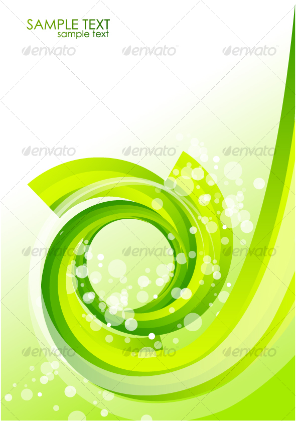GraphicRiver Green organic background 65844