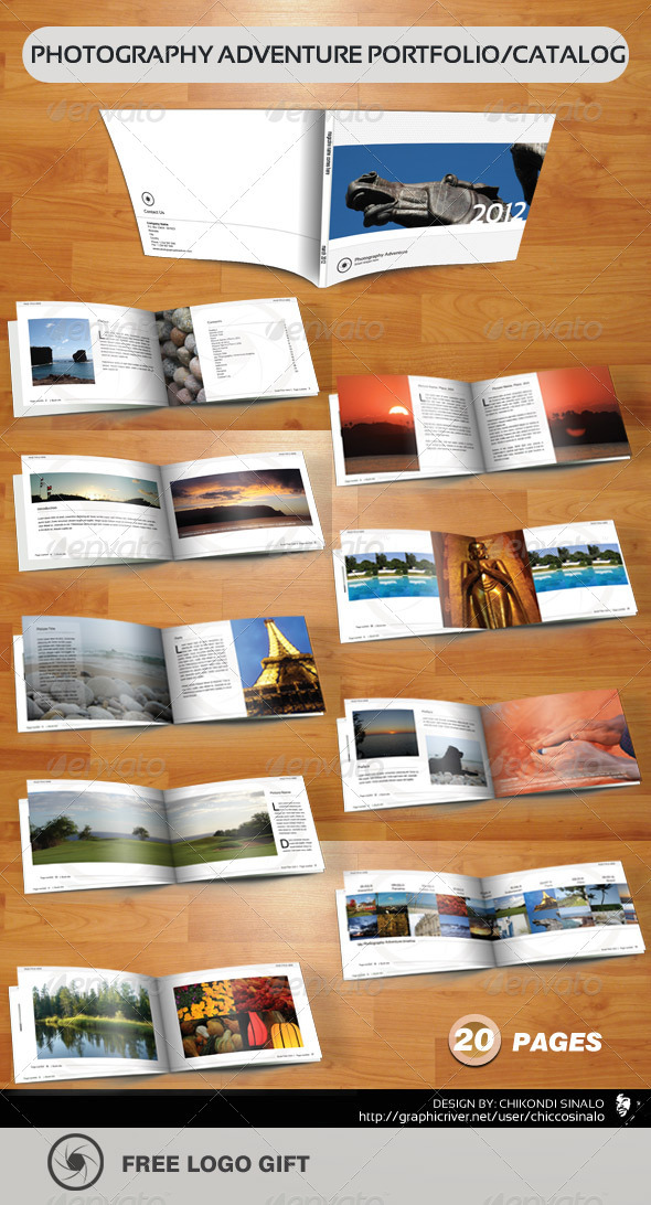 GraphicRiver Photography Adventure Portfolio 1614624