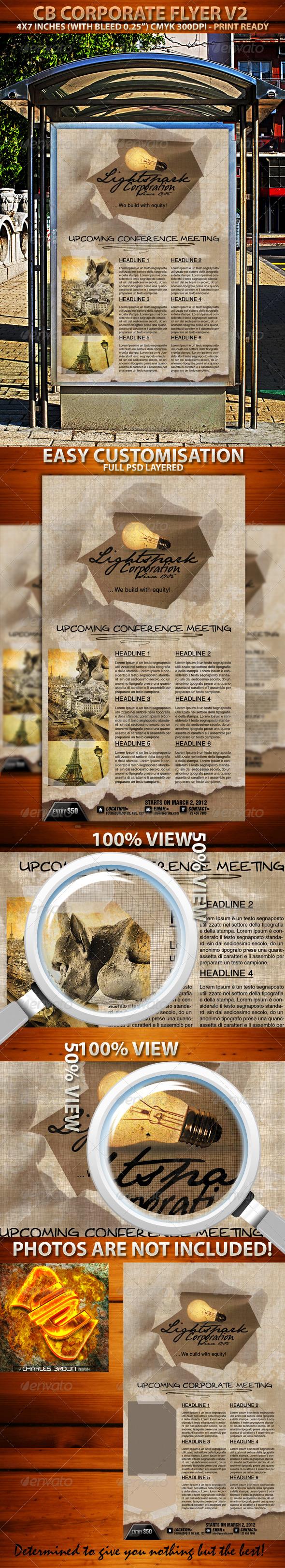 GraphicRiver CB Corporate Flyer V2 1687510
