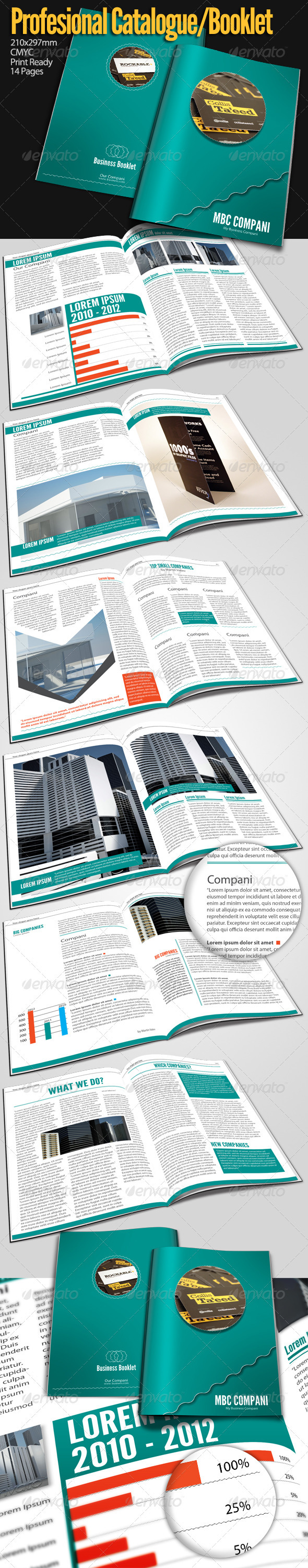 GraphicRiver My Business Booklet A4 1687539