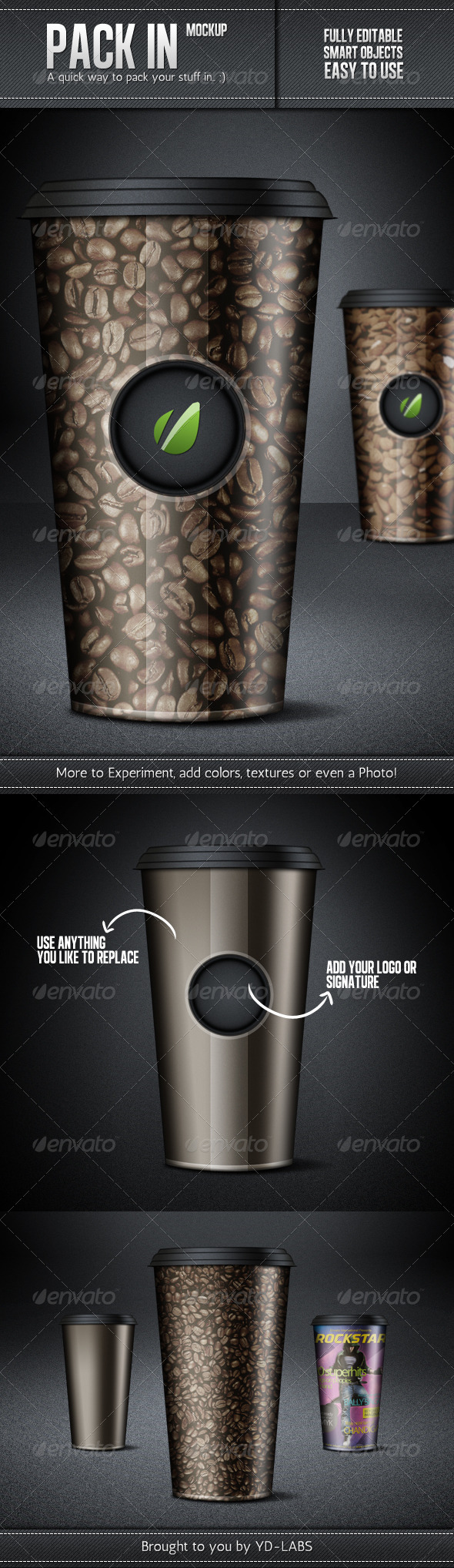 GraphicRiver Pack In Mockup 1687540