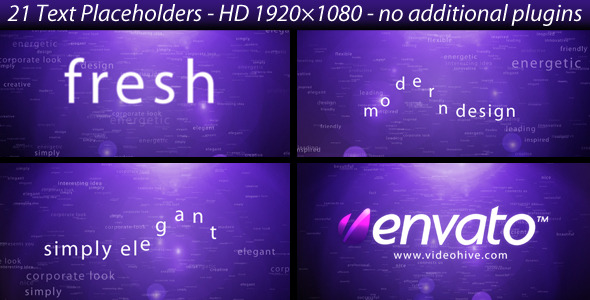 VideoHive Creative text opener 1688061