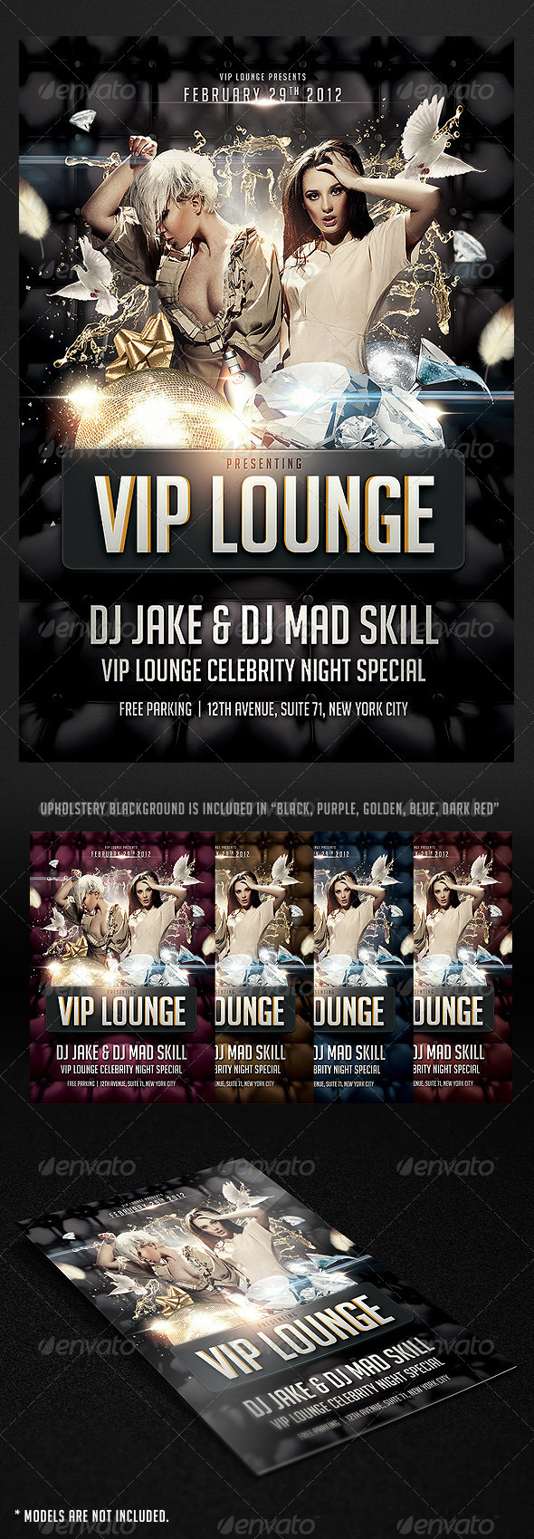 GraphicRiver VIP Lounge Flyer 1679940