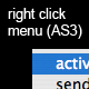 Right click menu (AS3)  - ActiveDen Item for Sale