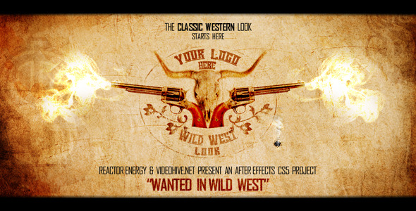 VideoHive Wanted in Wild West 1556647