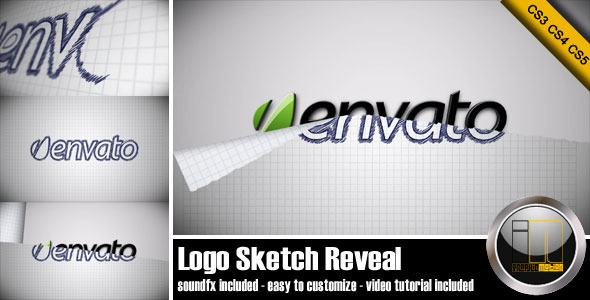 After Effects Project - VideoHive Logo Sketch Reveal 1693655