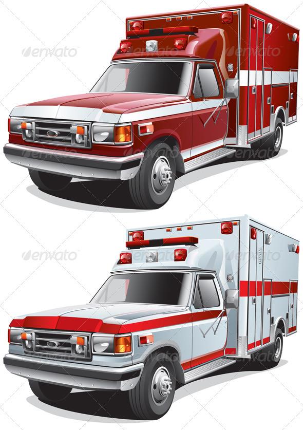 GraphicRiver Service Cars 1693994