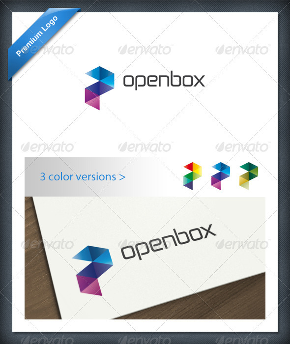 GraphicRiver Abstract Color Logo Template 1694508