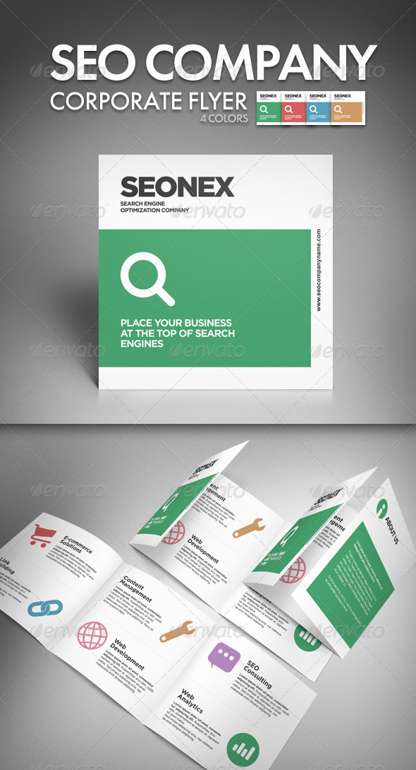 GraphicRiver SEO Company Corporate Flyer 1684469