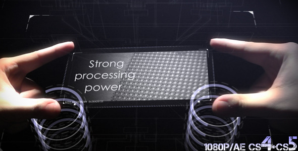 VideoHive Tech Hands Interface 1694526