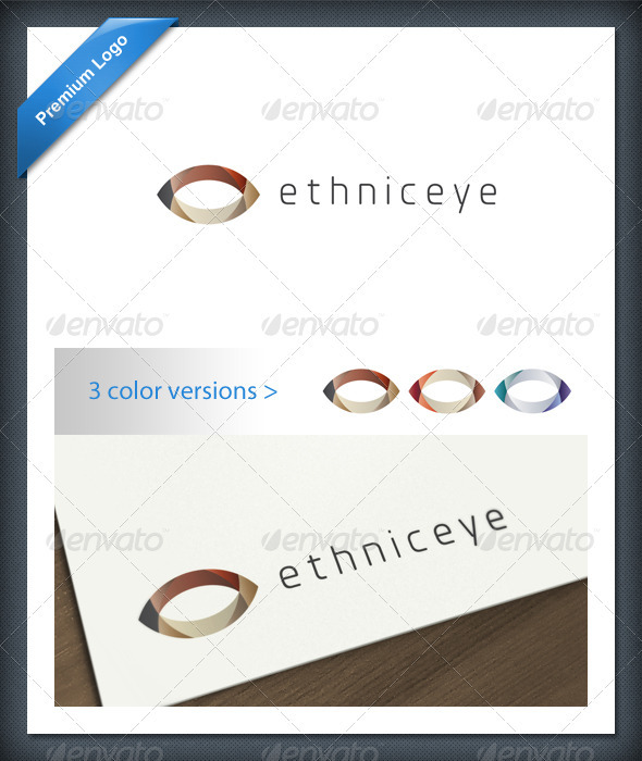 GraphicRiver Abstract Ethnic Eye Logo Template 1694558