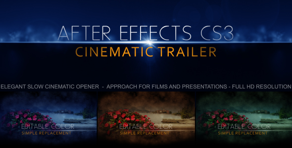 After Effects Project - VideoHive Smoked Transitions Intro 200117