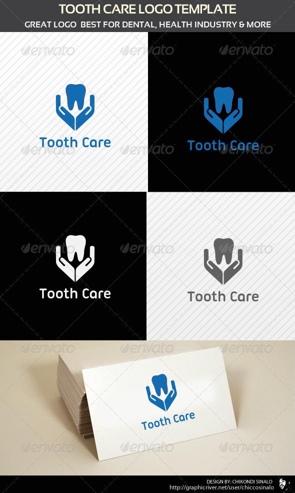 GraphicRiver Tooth Care Logo Template 1697623