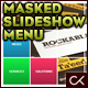 Rectangular Masked Slideshow XML Menu - ActiveDen Item for Sale