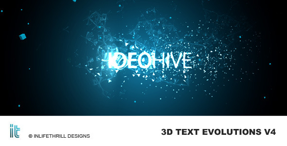 After Effects Project - VideoHive TextEvolutions V4 Energy 59838