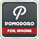 Pomodoro iPhone Landing Page - ThemeForest Item for Sale