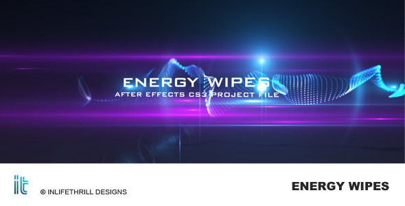After Effects Project - VideoHive Energy Wipes 86617