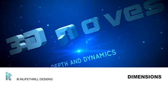 After Effects Project - VideoHive Dimensions 92290