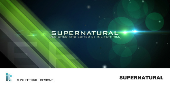 After Effects Project - VideoHive Supernatural 107306