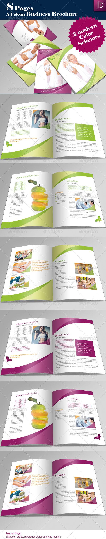 GraphicRiver A4 Professional Brochure 166361