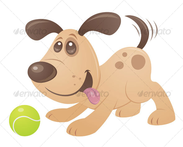 GraphicRiver Playful Puppy 66551