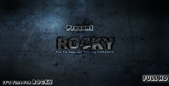 After Effects Project - VideoHive Rocky 201420