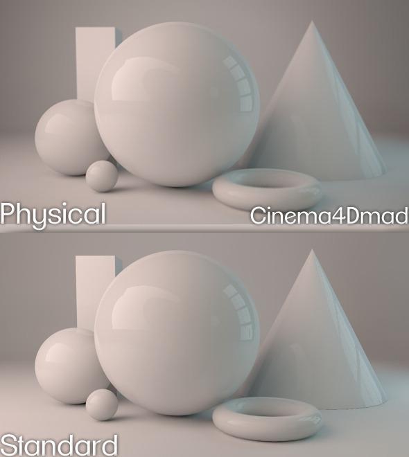 3DOcean Physical render studio cinema 4D 1709639