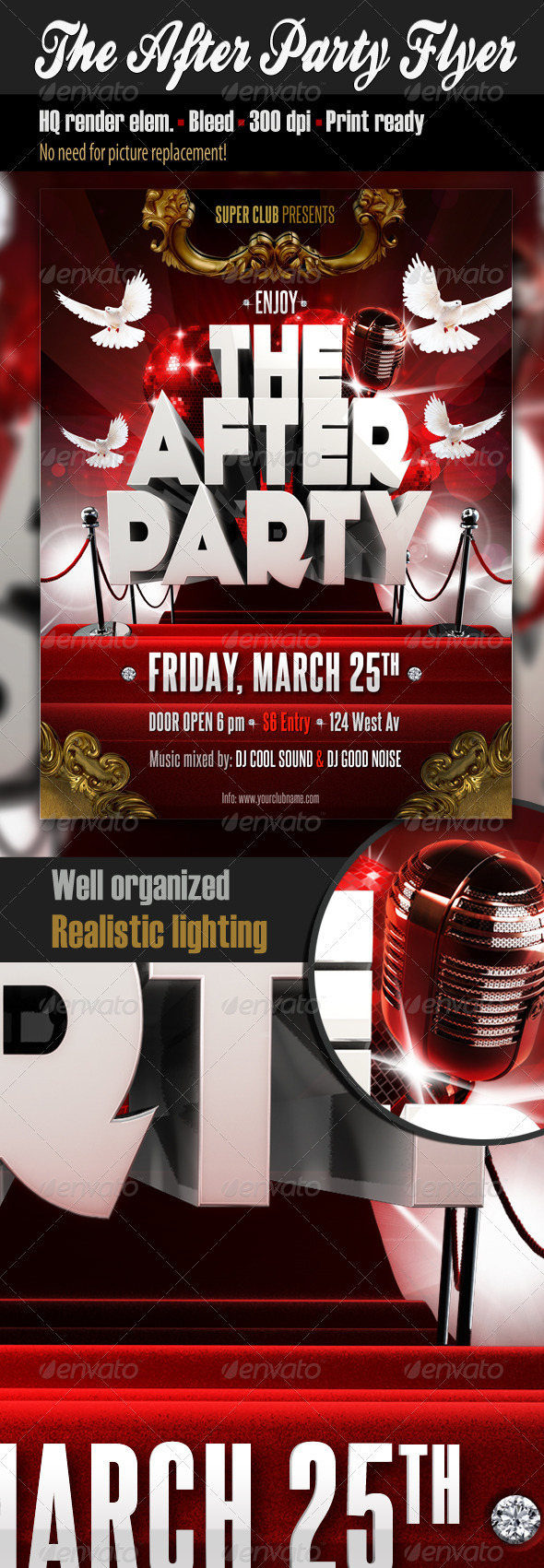 GraphicRiver The After Party Flyer 1711440
