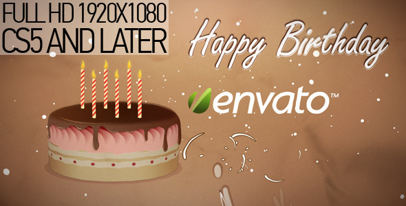 VideoHive Happy Birthday 1715031