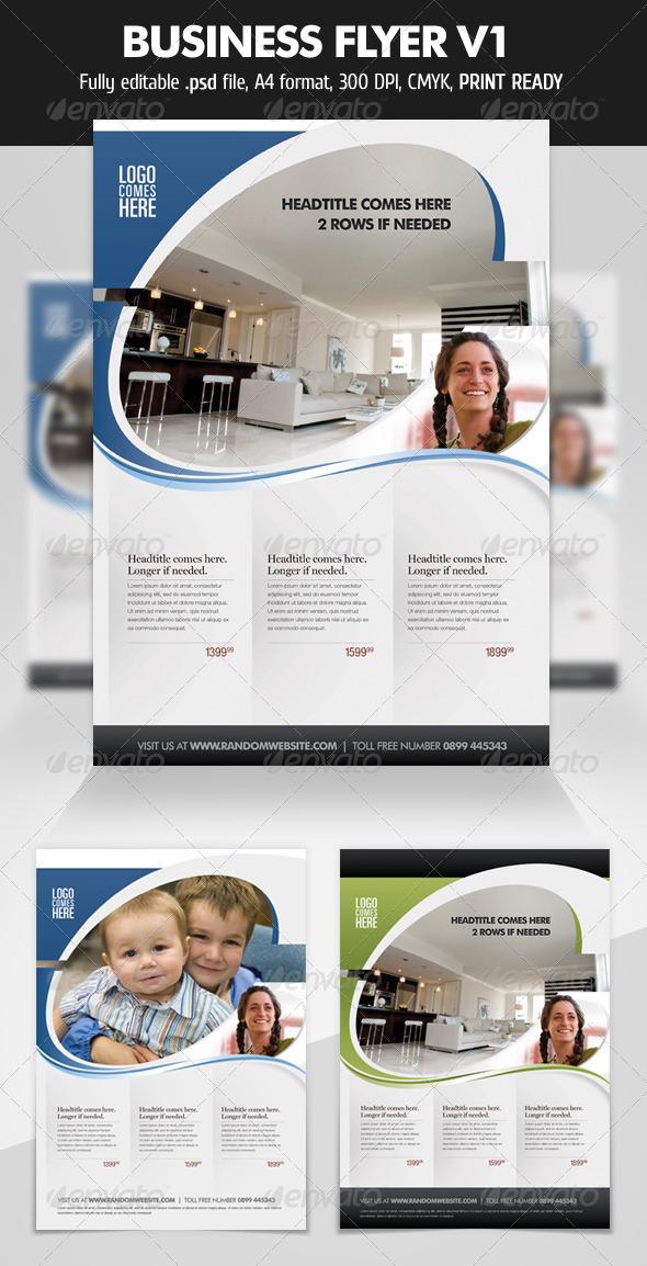 GraphicRiver Business Flyer V1 1682706
