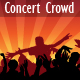 Concert Crowd Vector - GraphicRiver Item for Sale