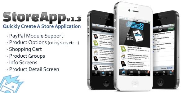 CodeCanyon StoreApp A Titanium Store Application Template 639154