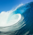 Blue Ocean Wave, View from in the Water - PhotoDune Item for Sale