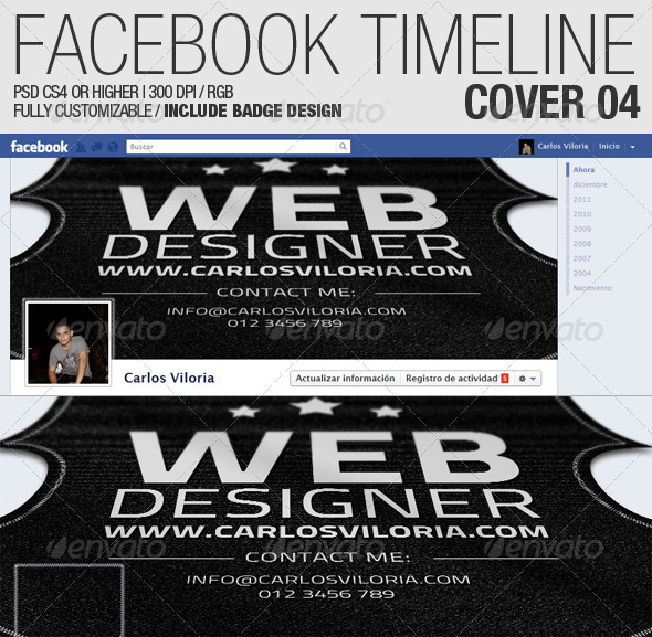 GraphicRiver Facebook Timeline Cover 04 1299220