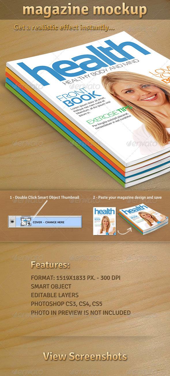 GraphicRiver Magazine Mockup 01 1683767
