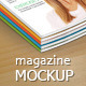 Magazine Mockup 01 - GraphicRiver Item for Sale
