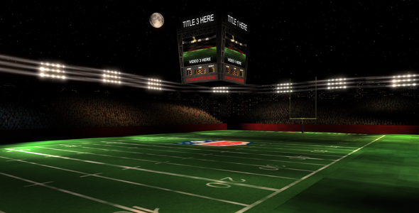 VideoHive The Gridiron 3D Football Stadium 1696047