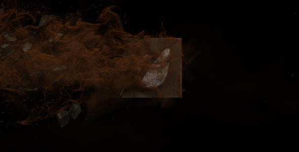 After Effects Project - VideoHive Blown Out Logo Reveal II 1700428