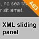 XML Sliding top panel (AS3) - ActiveDen Item for Sale