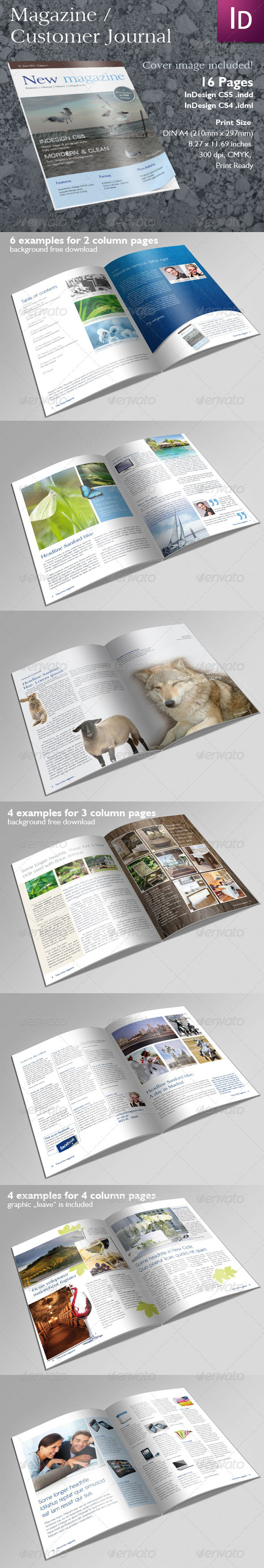 GraphicRiver Magazine or Client Journal 234729